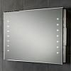 Henry Mirror 73106500 Size: H50 x W80 x D5.5cm Landscape rechargeable battery powered mirror with LED illumination. Supplied complete with rechargeable battery pack and charger.