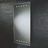 Inca Mirror art no: 73104295 Size: H90 x W45 x D4cm Slimline, bevelled edge mirror with parallel top and bottom LEDs.