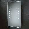 Lunar Mirror art no: 73104395 Size: H60 x W40 x D4cm Left and right LED columns on a classic bevelled edge mirror.