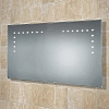 Aaron Mirror art no: 73105900 Size: H53 x W100 x D3.5cm Landscape bevelled edge mirror with LED illumination.