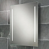 Casey Mirror art no: 77309000 Size: H80 x W60 x D4.5cm Back-lit mirror with heated mirror pad and two illuminated frosted strips.