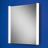 Daniel Mirror art no: 77400000 Size: H60 x W50 x D6cm Portrait mirror with heated mirror pad and vertical fluorescent illumination.