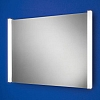 Theo Mirror art no: 77401000 Size: H60 x W80 x D6cm Landscape mirror with heated mirror pad and vertical fluorescent illumination.