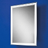 Skye Mirror art no: 77307000 Size: H70 x W50 x D4.5cm Landscape or portrait back-lit mirror with heated mirror pad and tapered frame.