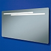 Maxi Mirror art no: 73106100 Size: H60 x W120 x D5.5cm Large landscape mirror with offset back-lit frosted strips.