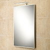Caro Mirror art no: 64148095 Size: H70 x W50 x D3.5cm Portrait bevelled edge mirror with low-energy LED illumination.