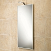 Malta Mirror art no: 64148495 Size: H80 x W40 x D3.5cm Portrait bevelled edge mirror with low-energy LED illumination.