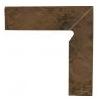 Semir Beige 8,1 x 30 x 1,1 cokół dwuelementowy schodowy prawy GAT.I ( KPL.1 )K.J.PARADYŻ