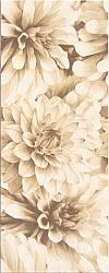 INSERTO BUGI CREAM FLOWER 20/50 cm BŁYSZCZĄCE GAT.1 ( SZT.1 )K.J.CERSANIT