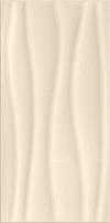 PŁYTKA ŚCIENNA BASIC PALETTE BEIGE WAVE - BŁYSZCZĄCA 29,7 x 60 cm GAT.1 ( OP.1,25 M2 )K.J.OPOCZNO