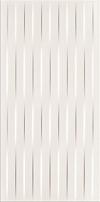 PŁYTKA ŚCIENNA BASIC PALETTE WHITE BRAID - SATYNOWA 29,7 x 60 cm GAT.1 ( OP.1,25 M2 )K.J.OPOCZNO