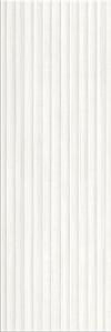 PŁYTKA ŚCIENNA ELEGANT STRIPES WHITE STRUCTURE 25/75 cm BŁYSZCZĄCA GAT.1 ( OP.1,12 M2 )K.J.OPOCZNO