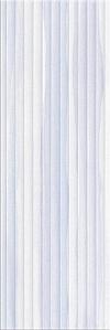 PŁYTKA ŚCIENNA ELEGANT STRIPES BLUE STRUCTURE 25,/75 cm BŁYSZCZĄCA GAT.1 ( OP.1,12 M2 )K.J.OPOCZNO