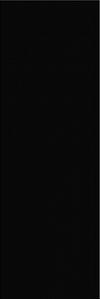 PŁYTKA ŚCIENNA PRET A PORTE BLACK - BŁYSZCZACA 25/75 cm GAT.1 ( OP.1,12 M2 )K.J.OPOCZNO