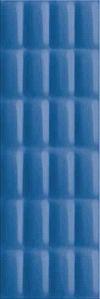 PŁYTKA ŚCIENNA VIVID COLOURS BLUE GLOSSY PILLOW STRUCTURE - BŁYSZCZĄCA 25/75 cm GAT.1 ( OP.1,12 M2 )K.J.OPOCZNO