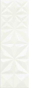 PŁYTKA ŚCIENNA WHITE MAGIC SQUARES GLOSSY - BŁYSZCZĄCA 25/75 cm GAT.1 ( OP.1,12 M2 )K.J.OPOCZNO