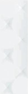 PŁYTKA ŚCIENNA OASIS BLANCO SATYNOWA - SZKLIWIONA 30/90 cm 76OS409 GAT.1 ( OP.0,81 M2 )K.J.GRESPANIA