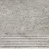 STOPNICA GRES GRIS GRAFIT SATYNOWY - SZKLIWIONY 33,3/33,3 GAT.1 ( SZT.1 )K.J.DOMINO