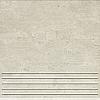 STOPNICA GRES GRIS SZARY SATYNOWY - SZKLIWIONY 33,3/33,3 GAT.1 ( SZT.1 )K.J.DOMINO