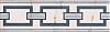 LISTWA CERAMICZNA BLANCA 2  7,4/25 cm GAT.1 ( SZT.1 )K.J.DOMINO