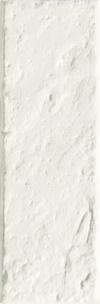 PŁYTKA ŚCIENNA ALL IN WHITE 6 STRUKTURA SATYNOWA - SZKLIWIONA 7,8/23,7 cm GAT.1 ( OP.0,28 M2 )K.J.TUBĄDZIN