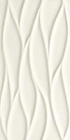 PŁYTKA ŚCIENNA ALL IN WHITE 3 STRUKTURA SATYNOWA - SZKLIWIONA REKTYFIKOWANA 29,8/59,8 cm GAT.1 ( OP.0,89 M2 )K.J.TUBĄDZIN