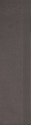 STOPNICA INTERO NERO REKTYFIKOWANY 29,8/119,8 cm SATYNOWY - SZKLIWIONY GAT.1 ( SZT.1 )K.J.PARADYŻ