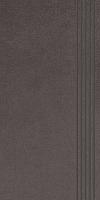 STOPNICA INTERO NERO REKTYFIKOWANY 29,8/59,8 cm SATYNOWY - SZKLIWIONY GAT.1 ( SZT.1 )K.J.PARADYŻ