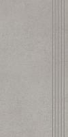 STOPNICA INTERO SILVER REKTYFIKOWANY 29,8/59,8 cm SATYNOWY - SZKLIWIONY GAT.1 ( SZT.1 )K.J.PARADYŻ