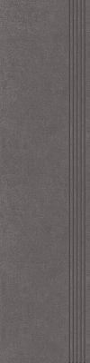 STOPNICA INTERO GRAFIT REKTYFIKOWANY 29,8/119,8 cm SATYNOWY - SZKLIWIONY GAT.1 ( SZT.1 )K.J.PARADYŻ