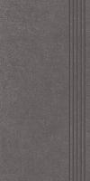 STOPNICA INTERO GRAFIT REKTYFIKOWANY 29,8/59,8 cm SATYNOWY - SZKLIWIONY GAT.1 ( SZT.1 )K.J.PARADYŻ