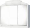 RANO szafka z lustrem 59x51x16cm, 2x12W, biała