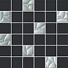 MOZAIKA ESTEN BIANCO/GRAFIT CIETA K.4,8X4,8 29,8X29,8 GAT.1 ( SZT.1 )K.J.PARADYŻ