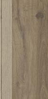 Stopnica prosta nacinana aveiro beige matowa rektyfikowana 29,4x59,9 cm Gat.1 ( OP.4 SZT.)K.J.PARADYŻ