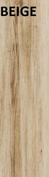 YENA BEIGE GRES SZKLIWIONY - SATYNOWY - MATOWY 17,5/60 cm GAT.2 ( PAL.67,20 M2 )K.J.CERRAD