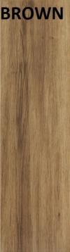 YENA BROWN GRES SZKLIWIONY - SATYNOWY - MATOWY 17,5/60 cm GAT.2 ( PAL.67,20 M2 )K.J.CERRAD
