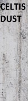 CELTIS DUST GRES SZKLIWIONY - SATYNOWY - MATOWY 16,7/58,8 cm GAT.2 ( PAL.49,98 M2 )K.J.CERRAD