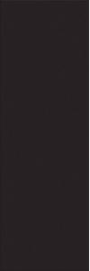 PŁYTKA ŚCIENNA FOREST SOUL BLACK GŁADKA SATYNOWA W476-010-1 WYMIAR 20x60 GAT.1 ( OP.1,08 M2 )K.J.CERSANIT