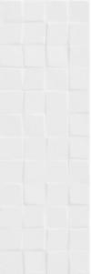 PŁYTKA ŚCIENNA FOREST SOUL WHITE STRUCTURE BŁYSZCZĄCA CUBES W476-003-1 WYMIAR 20x60 GAT.1 ( OP.1,08 M2 )K.J.CERSANIT