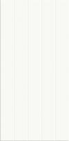 PŁYTKA ŚCIENNA PS500 WHITE GLOSSY STRUCTURE W698-005-1 GŁADKA BŁYSZCZĄCA 29,7x60 GAT.1 ( OP.1,25 M2 )K.J.CERSANIT
