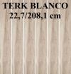 GRES TERK ( TORVIK ) BLANCO PD-ST-TE-0002 SATYNOWY - MATOWY  REKTYFIKOWANY 22,7/208,1 cm GAT.1 ( PAL.56,70 M2 )K.J.EGEN