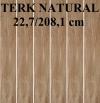 GRES TERK ( TORVIK ) NATURAL PD-ST-TE-0003 SATYNOWY - MATOWY  REKTYFIKOWANY 22,7/208,1 cm GAT.1 ( PAL.56,70 M2 )K.J.EGEN