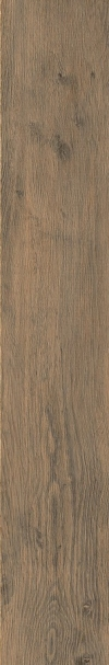 GRES GRAND WOOD RUSTIC BROWN SATYNOWY - MATOWY - STRUKTURA REKTYFIKOWANY 19,8/119,8 CM GAT.1 ( OP.0,95 M2 )K.J.OPOCZNO