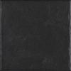 GRES MODERN NERO SZKLIWIONY - SATYNOWY - MATOWY STRUKTURA 19,8X19,8 GAT.1 ( OP.1,10 M,2 )K.J.PARADYŻ
