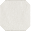 GRES MODERN BIANCO OCTAGON SZKLWIONY - SATYNOWY - MATOWY STRUKTURA 19,8X19,8 GAT.1 ( OP.1,03 M,2 )K.J.PARADYŻ