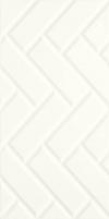 PŁYTKA ŚCIENNA MOONLIGHT BIANCO A STRUKTURA REKTYFIKOWANA 29,5X59,5 GAT.1 ( OP.1,40 M2 )K.J.PARADYŻ