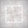 ROZETA PAPIRO GREY GOTICO 120/120 GAT.1 ( 1 KPL.= 4 szt.)K.J.ABSOLUT KERAMIKA
