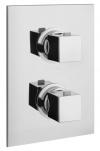 DIMY bateria prysznicowa podtynkowa, termostatyczna, 2-funkcyjna,chrom (UN57163)