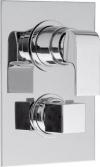 DIMY bateria prysznicowa podtynkowa, termostatyczna, 3-funkcyjna,chrom (UN57169)