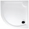 VIVA 90 brodzik prysznicowy kompozytowy, półokrągły 90x90x4cm, R550